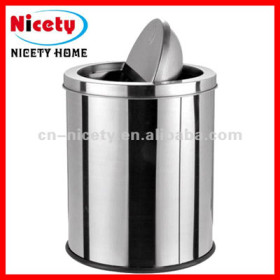 stainless steel mini trash can