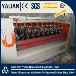 Honeycomb panel slitting machine