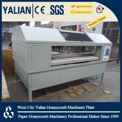 Honeycomb board round hole machine