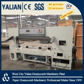 Paper honeycomb core cutting machine