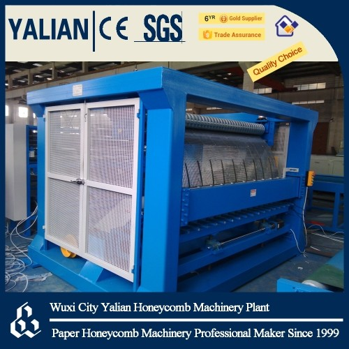 Full automatically honeycomb core & board& wallboard 3 in 1 machine