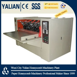 Paper board slitting machine