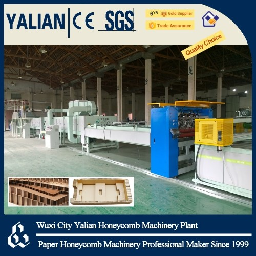 paper honeycomb core and sandwich wallboard machine