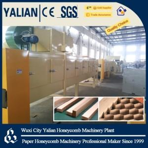 Honeycomb paper core & panel machine