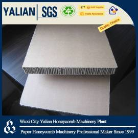 Paper vertical corrugated panel
