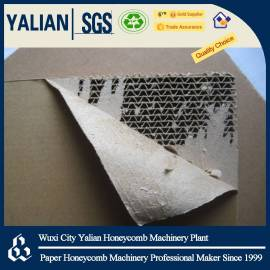 Printable vertical corrugated paper board