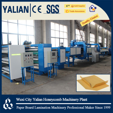 Newest paper slip sheet making machine with high speed cutting unit
