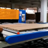 Two Way Finish Honeycomb Panel Conveyor On Honeycomb Panel Production Line