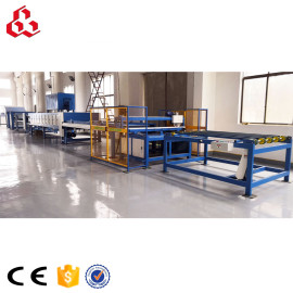 Laminated paper honeycomb board machine