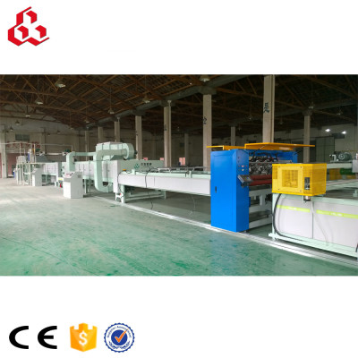 Honeycomb paper core & panel machine