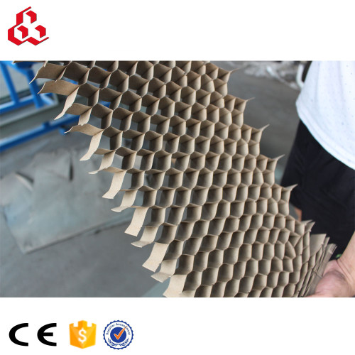Endless paper honeycomb core