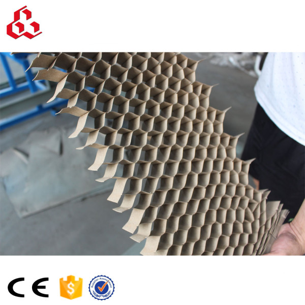 Endless paper honeycomb core