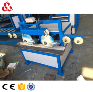 Edge board brushing glue machine