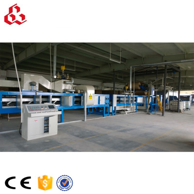 Paper honeycomb sandwich panel machine