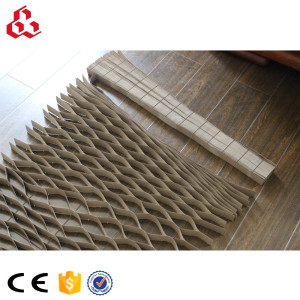Paper honeycomb core for door stuffing