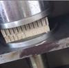 Paper vertical corrugated honeycomb machine product flat press test