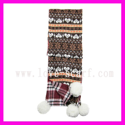 Double Knit Scarf