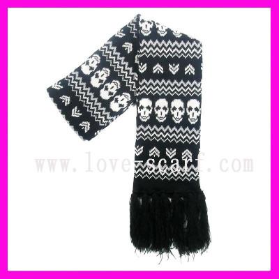 Fashion Skull Scarf
