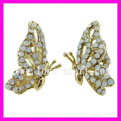 Butterfly Earring Studs