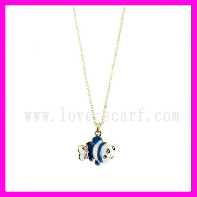 Fish Pendant Necklace