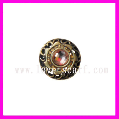 Fashion Crystal Metal Ring