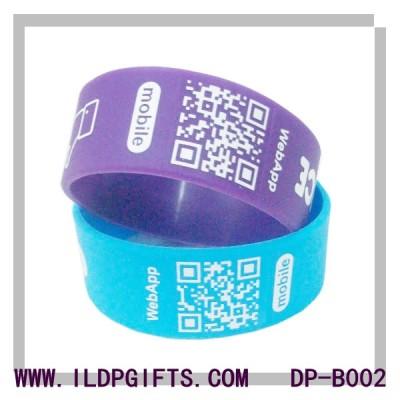QR Silicone Bracelet