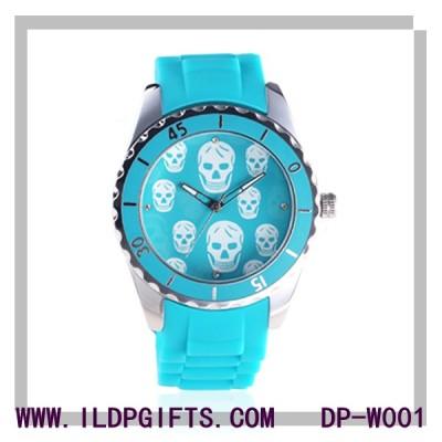 Silicone skeleton Sport Watch