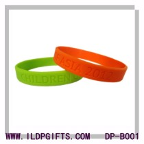 Debossed Silicone Bracelet
