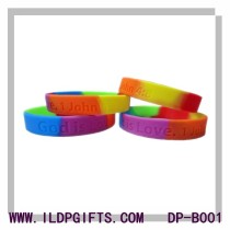 Mix Color Silicone Bracelet