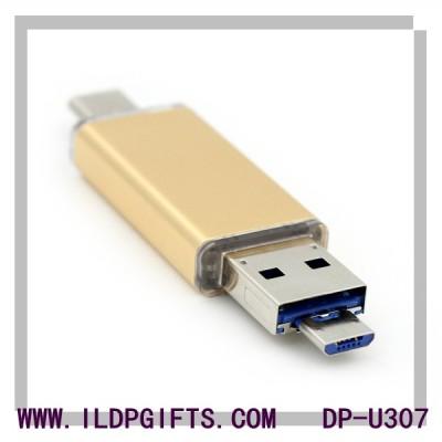 3 in 1 USB Flash Drive