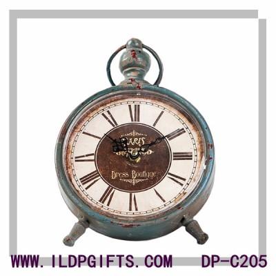 Custom archaized clock