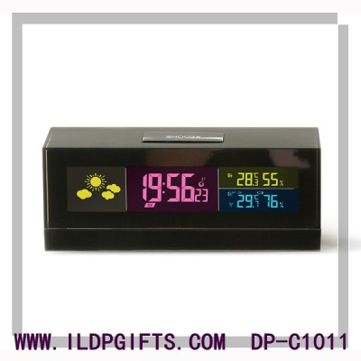 Cobblestone Weather Clock