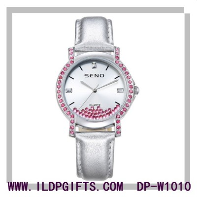 Hand Made Fancy Diamond Lady Watch