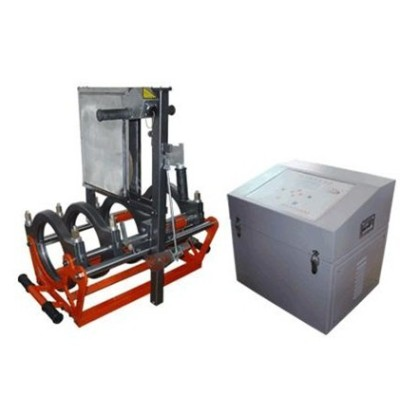 fusion welding hdpe pipe machine