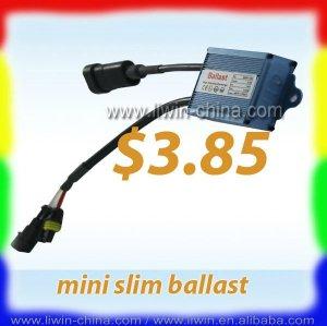 熱い販売のミニ2012hidの電子バラスト