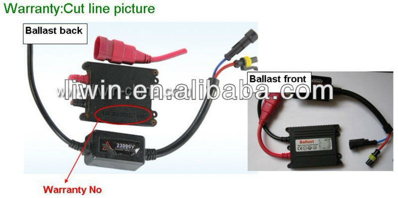 2013 hottest kit xenon hid h7 55w 8000k with canbus ballast