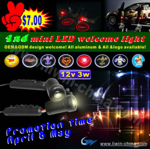 50% off hot selling 12v 5w ghost shadow light