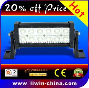 50% discount 10-30v cree B236 36w single row led light bar