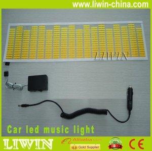 Hot sell auto sound control music interior light led Music Rhythm Light