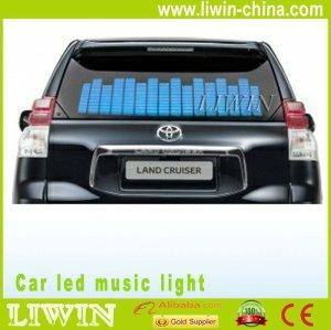 2013 Hot sell car led lamp LED music rhythm light