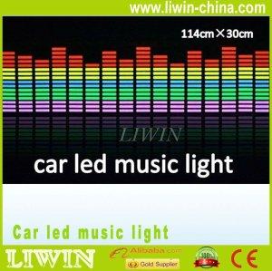 2013 venda quente do natal luz controlador de música levou o ritmo da música de luz