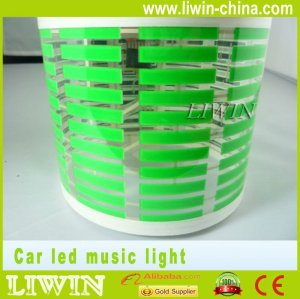 2012 venda quente controle de som de música de natal luzes led ritmo da música de luz