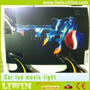 Auto car LED interior led music rhythm light