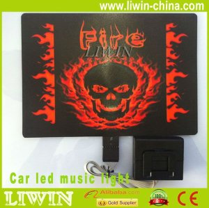 car equalizer music activated sticker Rhythm lamp