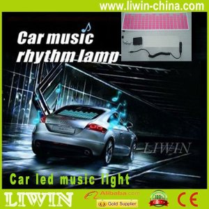 hottest sell car LED sound control music light