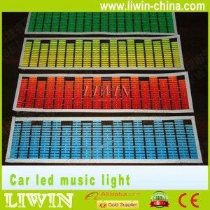 led sensor de música carro música ritmo leve
