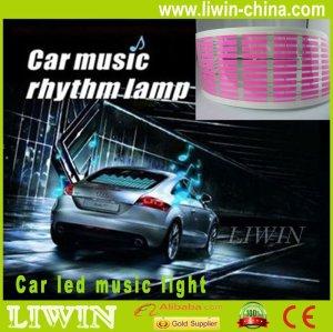 New arrival auto car LED interior led music rhythm light