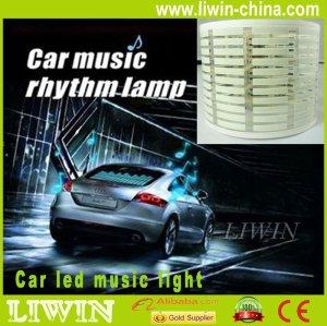 高温になる車の音楽のリズムledライトledライト