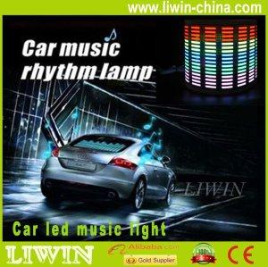 12v dc luz música/auto led controle de som e luz de música