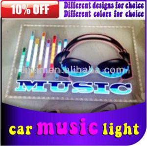 hottest 2013 carro música ritmo luzes com controle de som